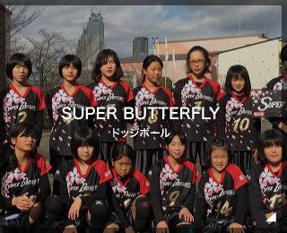 ジュニアドッジボールチーム「SUPER BUTTERFLY様」(岐阜県)