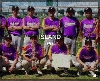 野球「ISLAND 様」(東京都)
